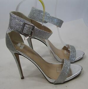 Silver sexy shoes