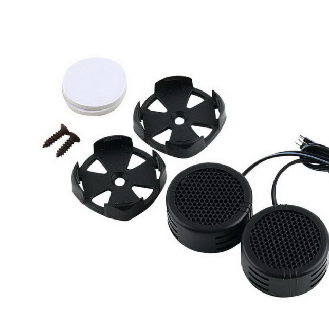 2 x 500 Watts Super Power Loud Dome Tweeter Speakers for Car 500W pk