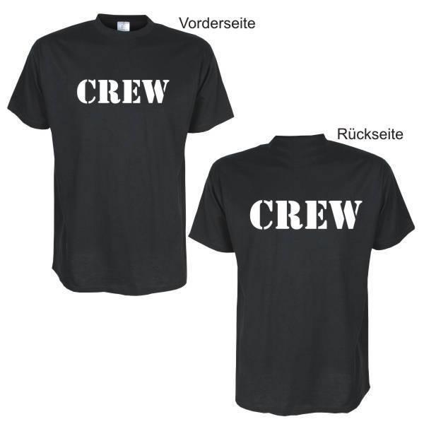 Crew -- Fun T-Shirt, Funshirts, große Größen und Übergrößen (UGRBL053)