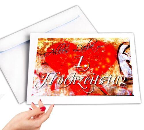 Digital Oasis Congratulations Card 1 Wedding Anniversary Card #002