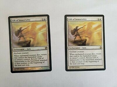 Theros Rare MTG FOIL GIFT OF IMMORTALITY