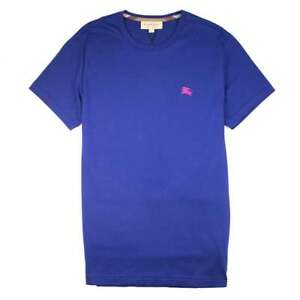 b12c23c1 Image is loading Burberry-Joe-Forth-Embroidered-Logo-T-shirt-Blue-