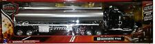 Oil Gas Tanker Truck Trailer Kenworth T700 Diecast Plastic 1:32 NewRay 22 inches