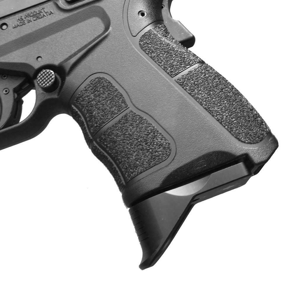 BASTION Laser Engraved Mag Butt Plate Initials Army Magazine Floor Base Plate for Glock All Gen 1-5 9mm .357 .40 .45 Gap