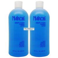 Nairobi Wrapp-it Shine Foaming Lotion 32 Fl. Oz. pack Of 2