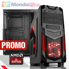 PC Computer GAMING AMD A6-6400K Dual Core - Ram 8 GB DDR3 - SSD 240 GB - WI-FI