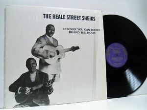 BEALE-STREET-SHEIKS-chicken-you-can-roost-behind-the-moon-LP-EX-EX-MK323-vinyl