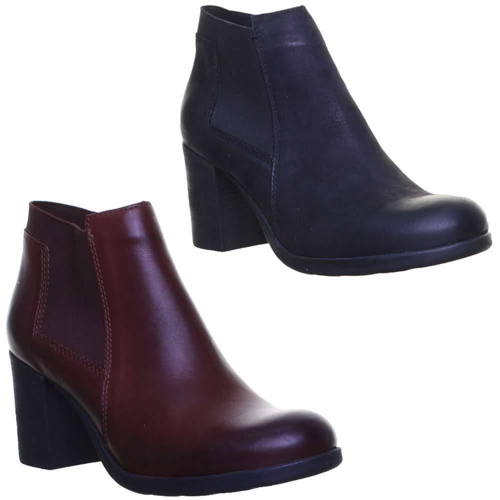 Justin Reece Damenschuhe 100% Leder Ankle Chelsea Sock Fit Ankle Leder Boot Größe Uk 3 - 8 3e4e73