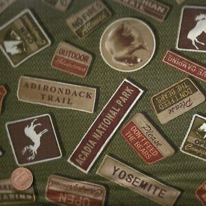 North-by-Northwest-wildlife-signs-green-Benartex-fabric