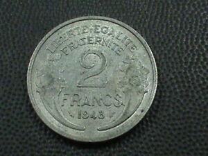 Francia-2-Francos-1948-Maxima-en-Ee-uu