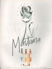 ▬► PUBLICITE ADVERTISING PARFUM PERFUME Claude MONTANA 1994