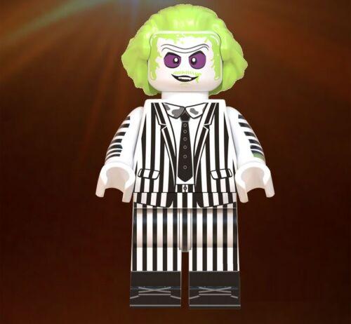 Beetlejuice Minifiguras LEGO compatible nuevo en paquete de Tim Burton Michael Keaton