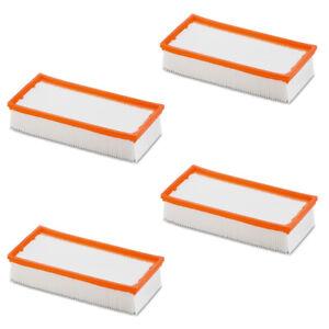 4x Flachfalten Filter für Würth Kärcher Hilti Flex Bosch 35 ISS 45 6.904-367.0