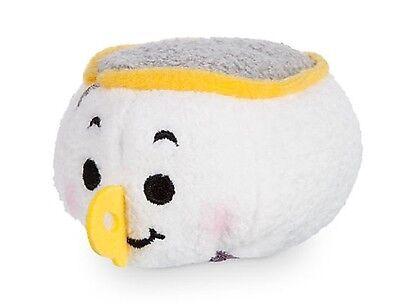 "Disney Store Exclusive Mini Tsum Tsum Beauty /& The Beast Chip Tea Cup Plush 3.5/"""