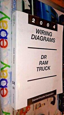 2004 dodge truck wiring diagram 2004 dodge ram trucks factory wiring diagrams manual ebay  2004 dodge ram trucks factory wiring