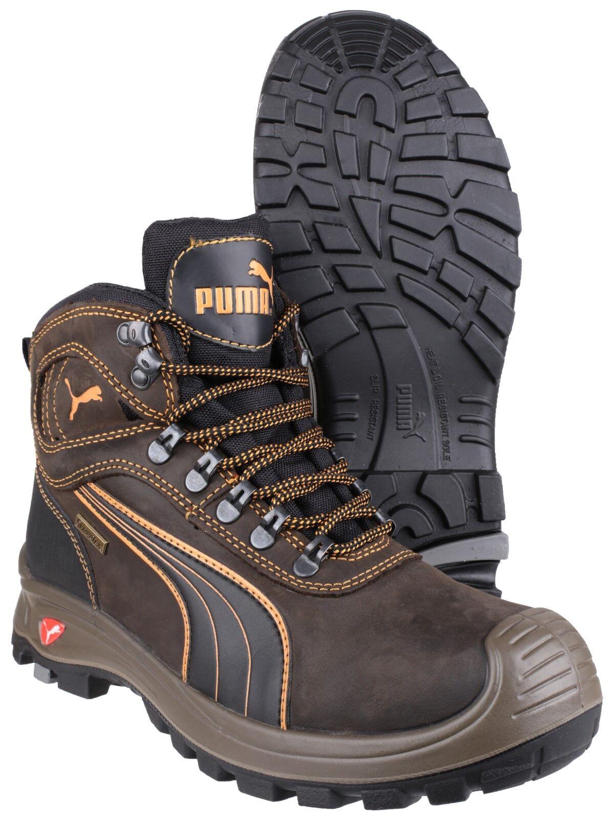 Puma Sierra Stivali Nevada Mid sicurezza composto da Uomo Scarpe Stivali Sierra Lavoro Industriale uk6-13 d163a7