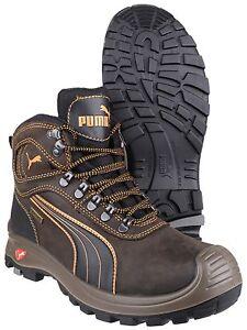 PUMA SIERRA NEVADA met Safety da uomo COMPOSITO industriale lavoro scarpe