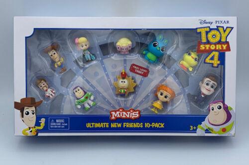 Toy Story 4 Minis ULTIMATE NEW FRIENDS 10 PACK Disney Pixar Figures