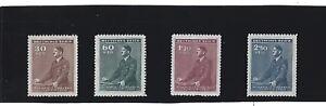 Full MNH Stamp set / 1942 Third Reich / Adolph Hitler Birthday / WWII Germany