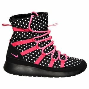6b59df30f7043 Girl s Nike Roshe One Hi Boots Size 6 Youth Sneakerboots 807744 001 ...