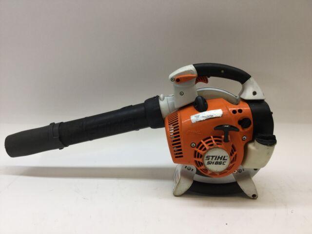 Stihl sh86c gas handheld leaf blower ebay stihl handheld leaf blower 27cc model sh86c free shipping publicscrutiny Choice Image