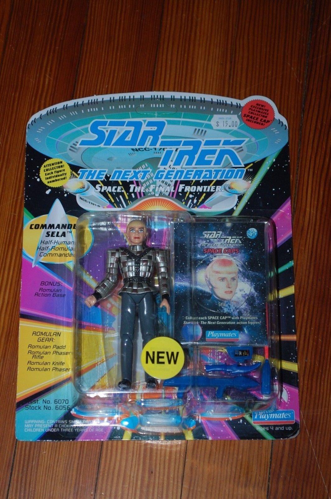 Commander Sela-Star Trek The 000287 Next Generation-MOC-Space Cap Niedrig Number 000287 The ae3774