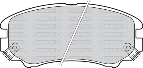 OEM SPEC FRONT AND REAR PADS FOR HYUNDAI COUPE 2.0 2002-09