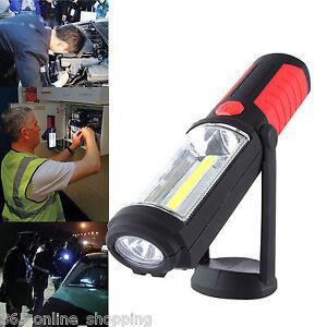 5w Cob Led + Magnétique Torche Flexible Lampe Inspection Sans Smd De Travail Diversifié Dans L'Emballage