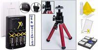 8pcs Super Saving Accessory Kit For Nikon Coolpix L110 L22
