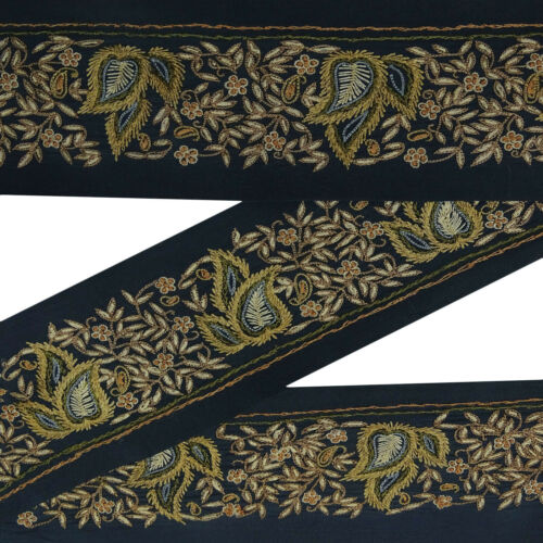 SW-VB18069A Embroidered Sewing Dress Lace Used Fabric Ribbon Trim 1 Yd