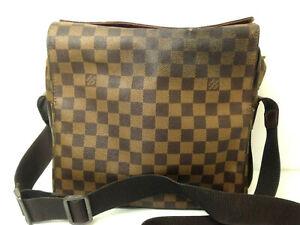 Louis-Vuitton-Damier-Naviglio-Ebene-Messenger-Shoulder-Crosbody-Hand-Bag-Purse