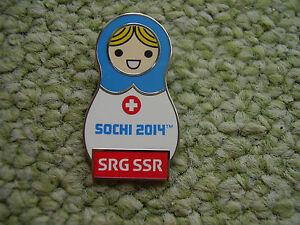 Pin-SRG-SSR-Schweiz-Sotschi-2014-passend-Olympiade-2020-Tokio-Olympic-Game-IOC