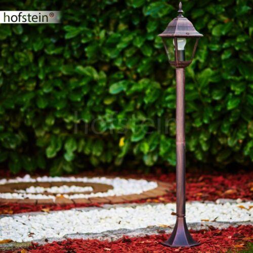 Außen Steh Leuchte Wege Poller Lampe Garten Laterne Beleuchtung Bronze Antik