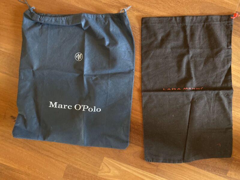 2 Schuhbeutel Marc O'polo & Lara Manni Neu