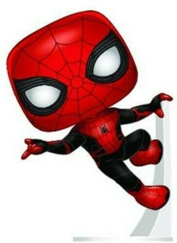 Far From Home - Spider-Man (Upgraded Suit) - Funko Pop! Spider (2019, Toy NUEVO)