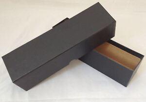 Caja-de-almacenamiento-de-Monedas-de-Carton-Duro-y-Rigido-Negro-x-2
