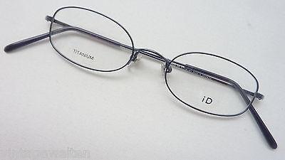 2019 Neuestes Design Id Brille Ohne Glas Dünner Rahmen Titan Leicht Neutral Titanium Damen Size M