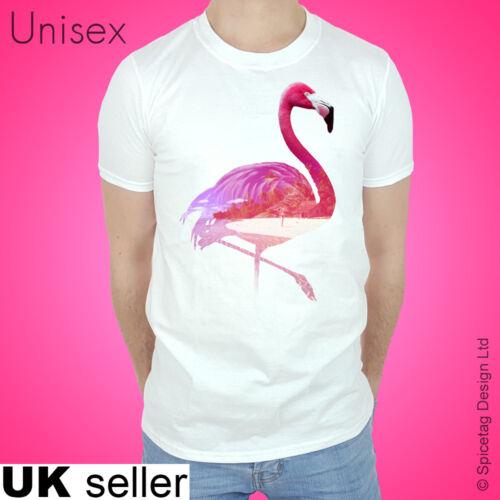 Flamingo T-shirt 80s Tshirt Yacht Rock Top Beach Fashion Tee Pink Summer Miami T