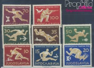 804-811 Olympische Sommerspiele 1956 Postfrisch. Briefmarken Jugoslawien Jugoslawien Michel Nr