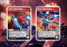 Transformers TCG Singles-Wave 4 caractère cartes Guerre pour Cybertron Siege II