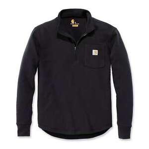 Carhartt-Tilden-Half-Zip-Herren-Sweatshirt-Cardigan