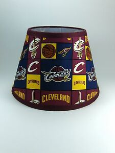 Cleveland cavaliers nba wine gold navy fabric lamp shade lampshade image is loading cleveland cavaliers nba wine gold navy fabric lamp mozeypictures Choice Image