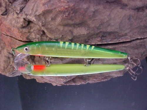 Rapala® Husky Jerk HJ12-2083 UV Custom-Painted WARRIOR LURES for WALLEYE//SALMON