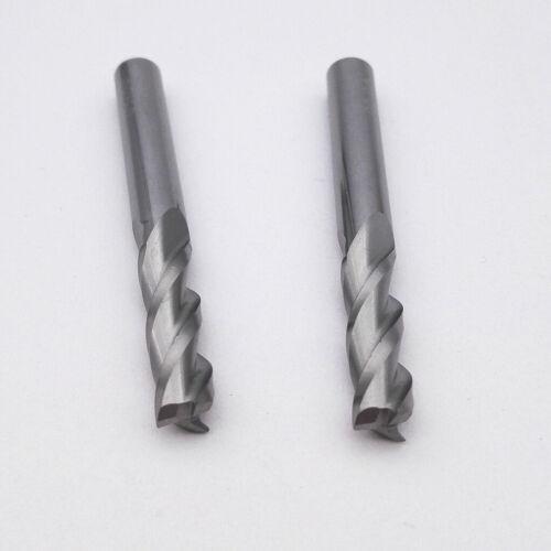 KLOT Solid Carbide End Mill 5.5mm-20mm 3-Flute Cutter Router Bits CNC HRC50