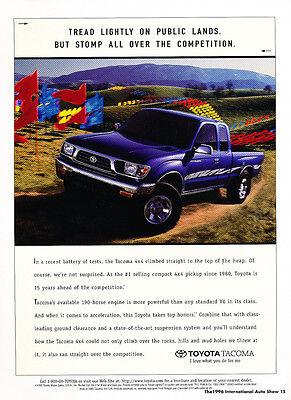 Classic Car Advertisement Print Ad J72 1996 Chevrolet Geo Metro Tracker 2-page