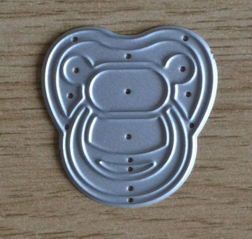Metal Cutting Die A53 Large DUMMY Soother Pacifier Baby