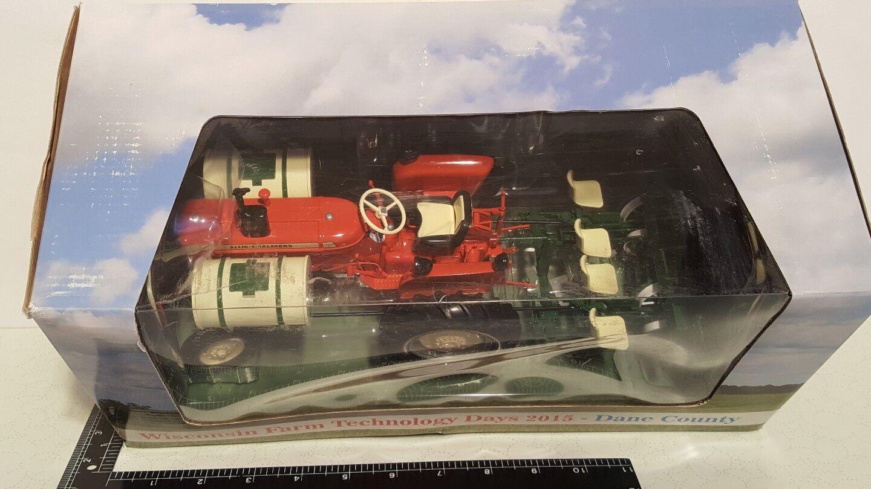 AC D15 IV w  Ellis 470 transplanter 1 1 1 16 resin farm tractor replica by SpecCast e62cda