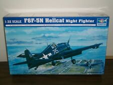 Trumpeter 9362257 Grumman F6F-5 Hellcat 1:32 Propellerflugzeug Modellbausatz