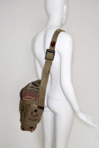 Wow Super brodᄄᆭ Boho Vintage Sac Hippie Cool militaire OPZTkuiX