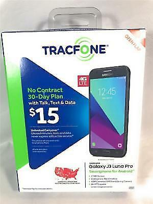 "Buy Tracfone Samsung Galaxy J3 Luna Pro 16gb Android 5"" HD Screen 4g LTE online 